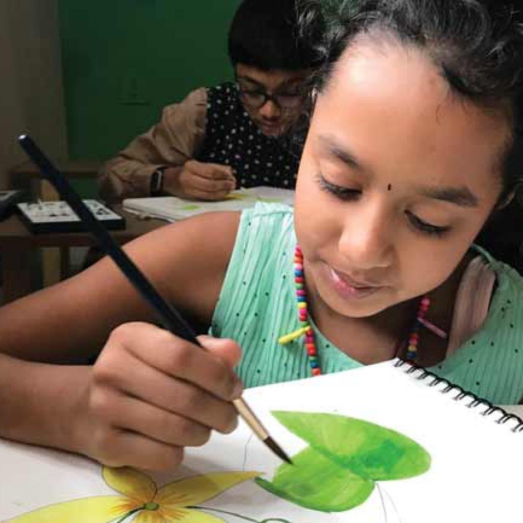art-therapy-bids-goodbye-to-trauma-in-kids_junior-pencil-and-chai-Bangalore-Art School