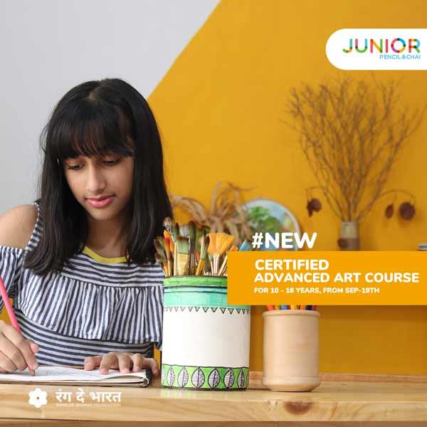 New advanced art course batch for juniors