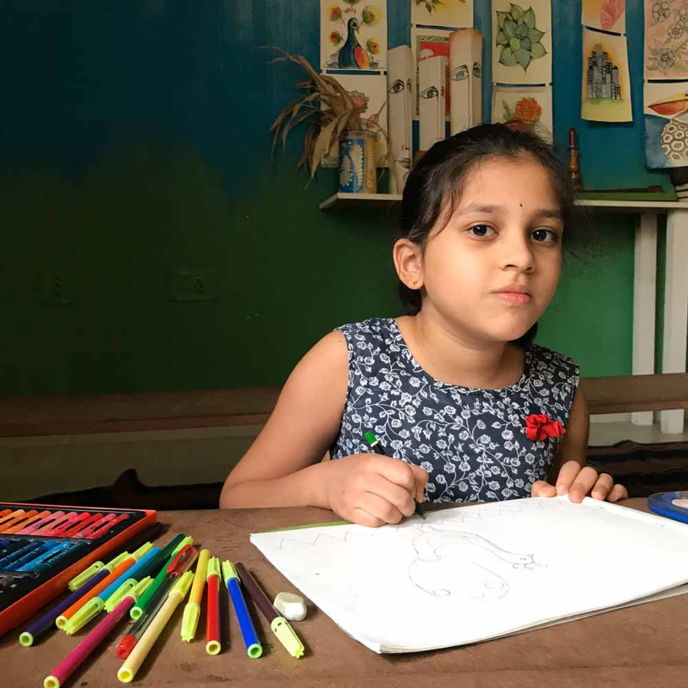 Learning Fine Arts and It's Engagement | Junior Pencil And Chai